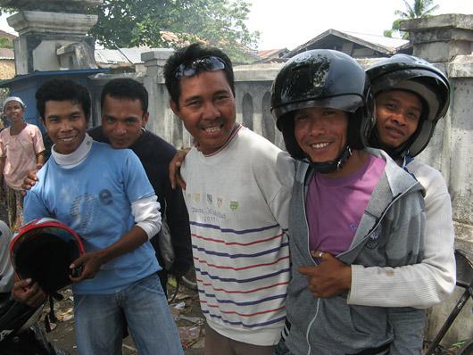 Positiivne rolleriseltskond Lombokil