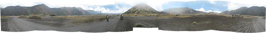 Bromo (6) - panoraam kraatirpõhjast