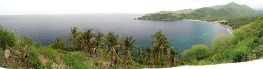 Lomboki maastikud