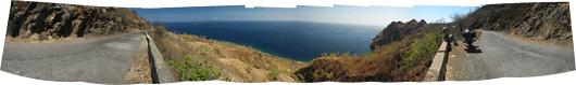 Banda meri ja Timori kaljune kallas