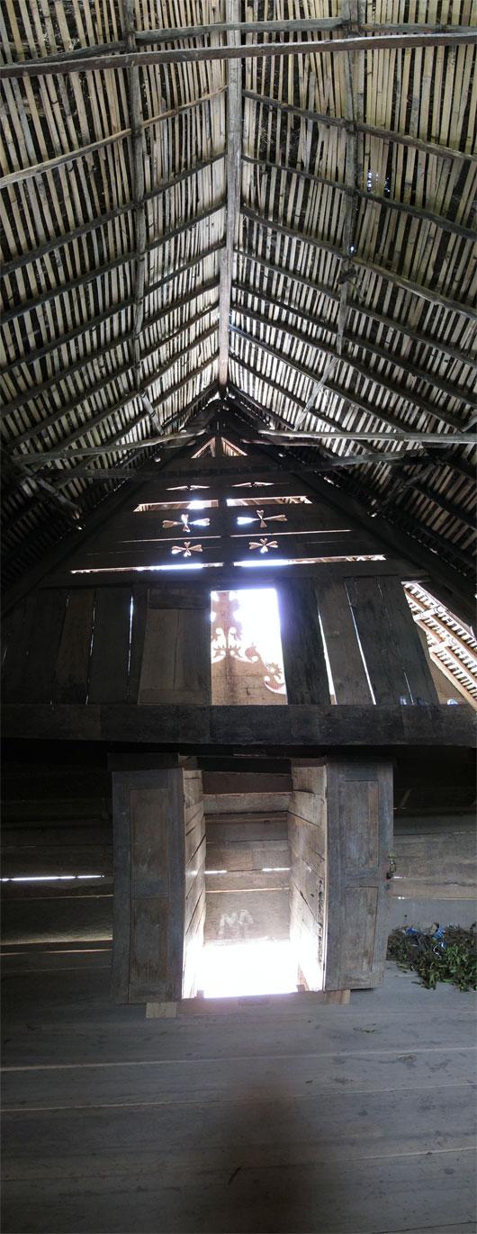 Bataki maja seest