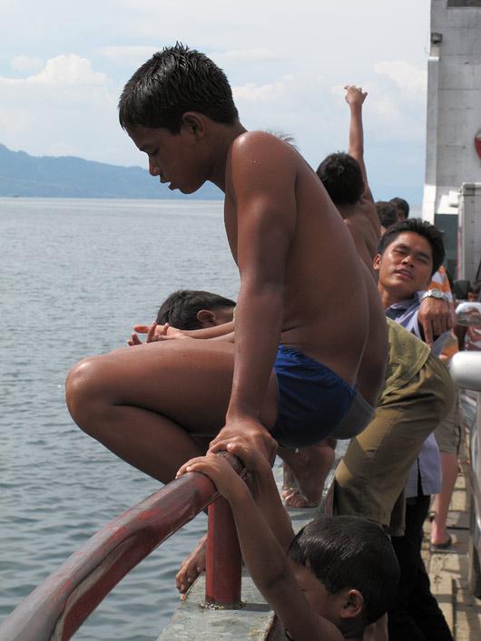 Poisid praamilt vette kargamas