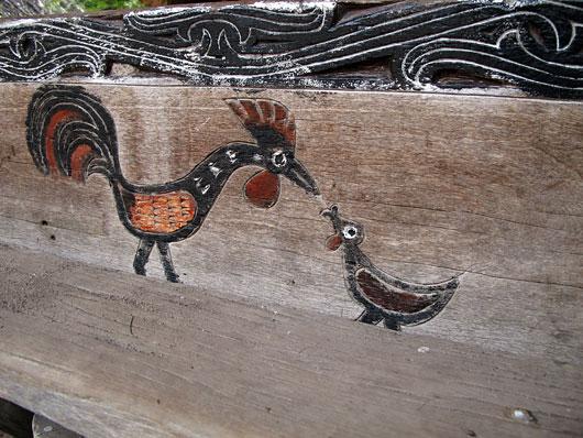 Joonistused Bataki hoonetel