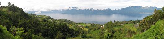 Maninjau järve panoraam