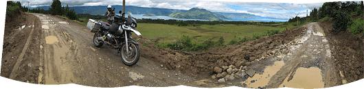 Samosiri saare läänepoolne vaade Toba järvele