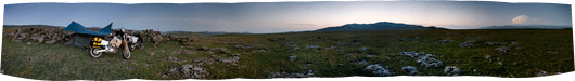 Põhja-Armeenia avaratel ja tuulistel väljadel