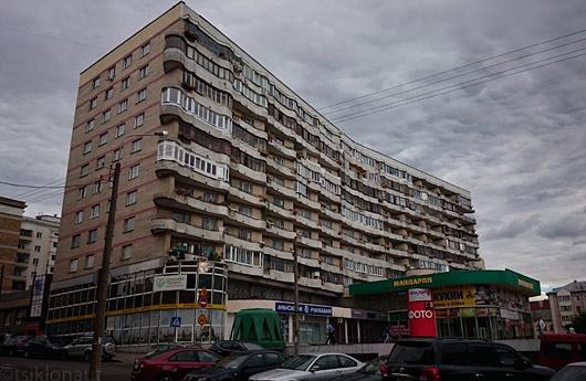 Minski arhitektuur on nostalgiline