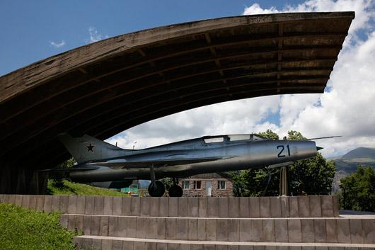 Käisime ka huvitavas Mikoyani (MiG lennukite looja) majamuuseumis