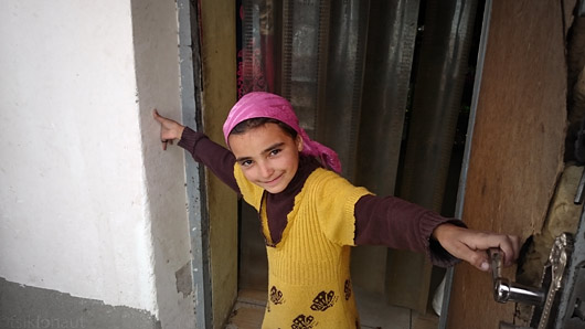 Wakhi tüdruk