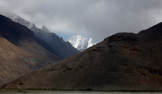 Tipp üle Wakhani koridori kiikamas