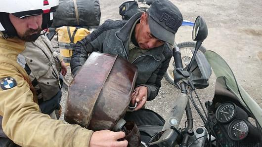 Tadžiki solkkütust tarbimas