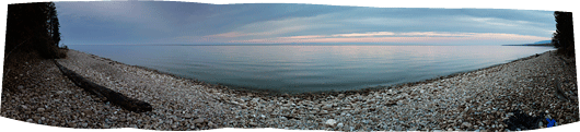 Kilomeetrite ulatuses oli kogu Baikali rand meie päralt