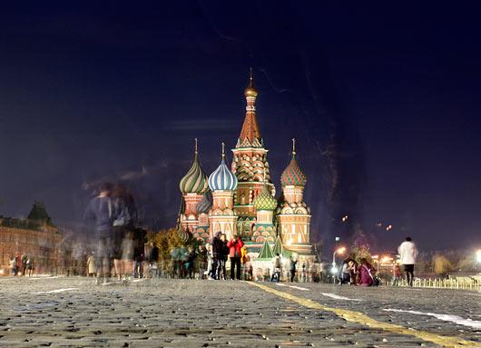 Ikooniline Moskva Punane Väljak.
